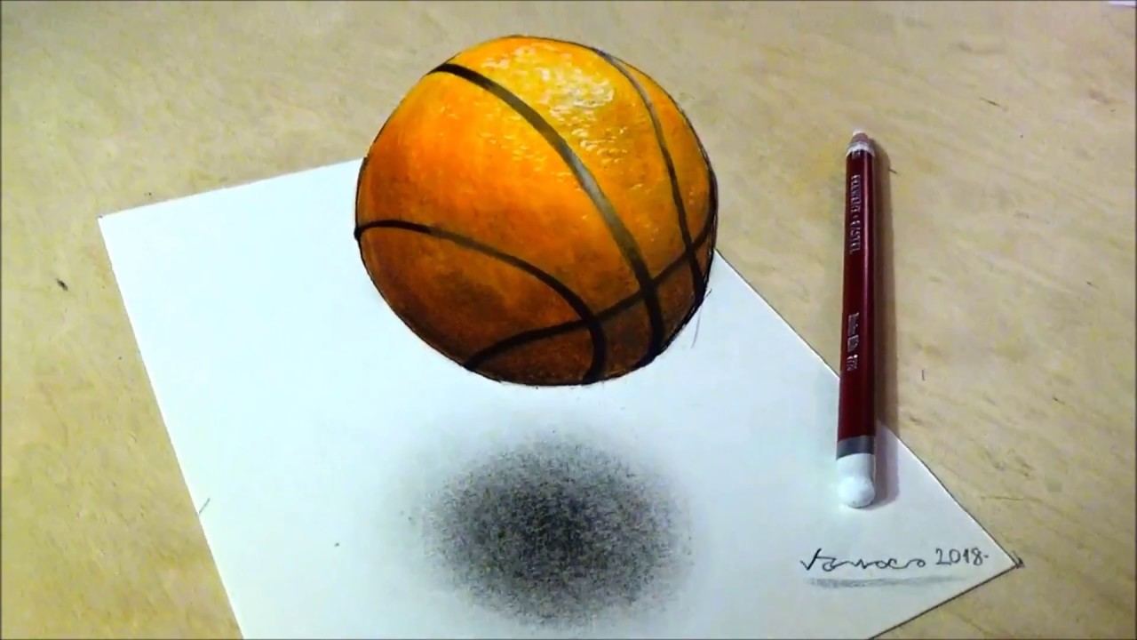 1280x720 How To Draw Basketball