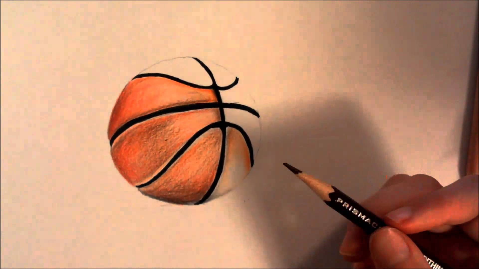 1920x1080 How To Draw A Basketball