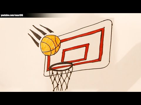 480x360 How To Draw A Basketball Hoop