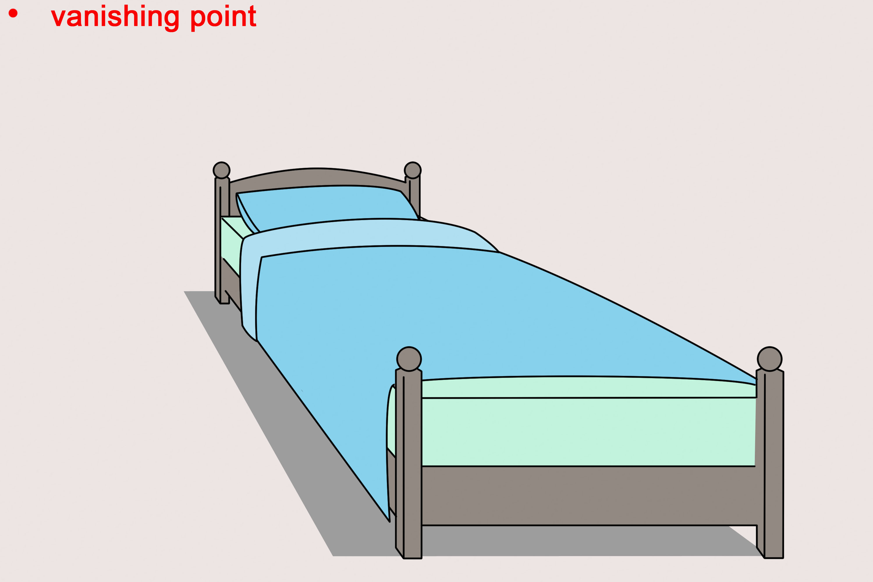 Cad Queen Sized Bed