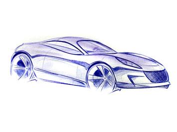355x266 Car Drawing Tutorial
