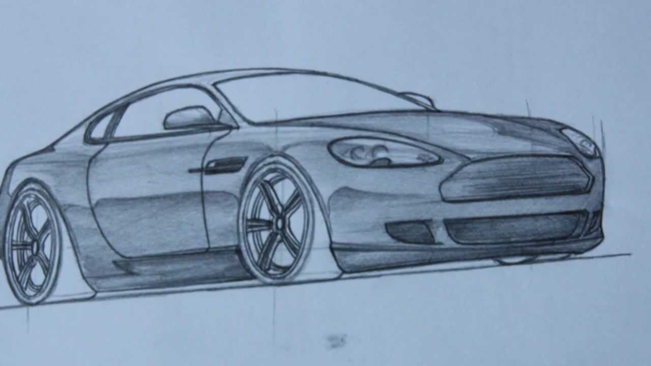 3d Car Drawing at GetDrawings.com | Free for personal use 3d Car ...