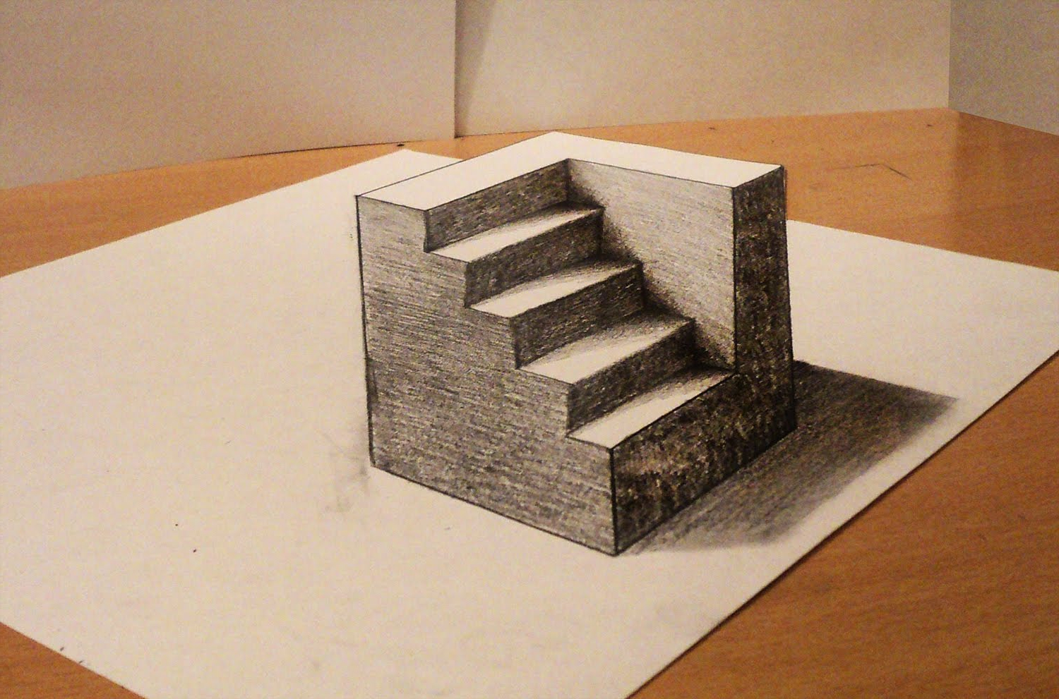 1500x991 Drawing 3d Anamorphic Illusion How To Draw