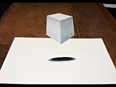 480x360 How To Draw 3d Cube Illusion