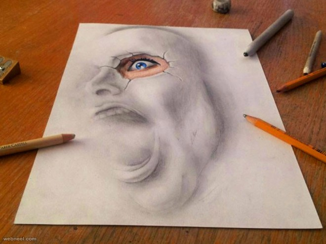 660x495 face 3d drawing by texnh3d2 20