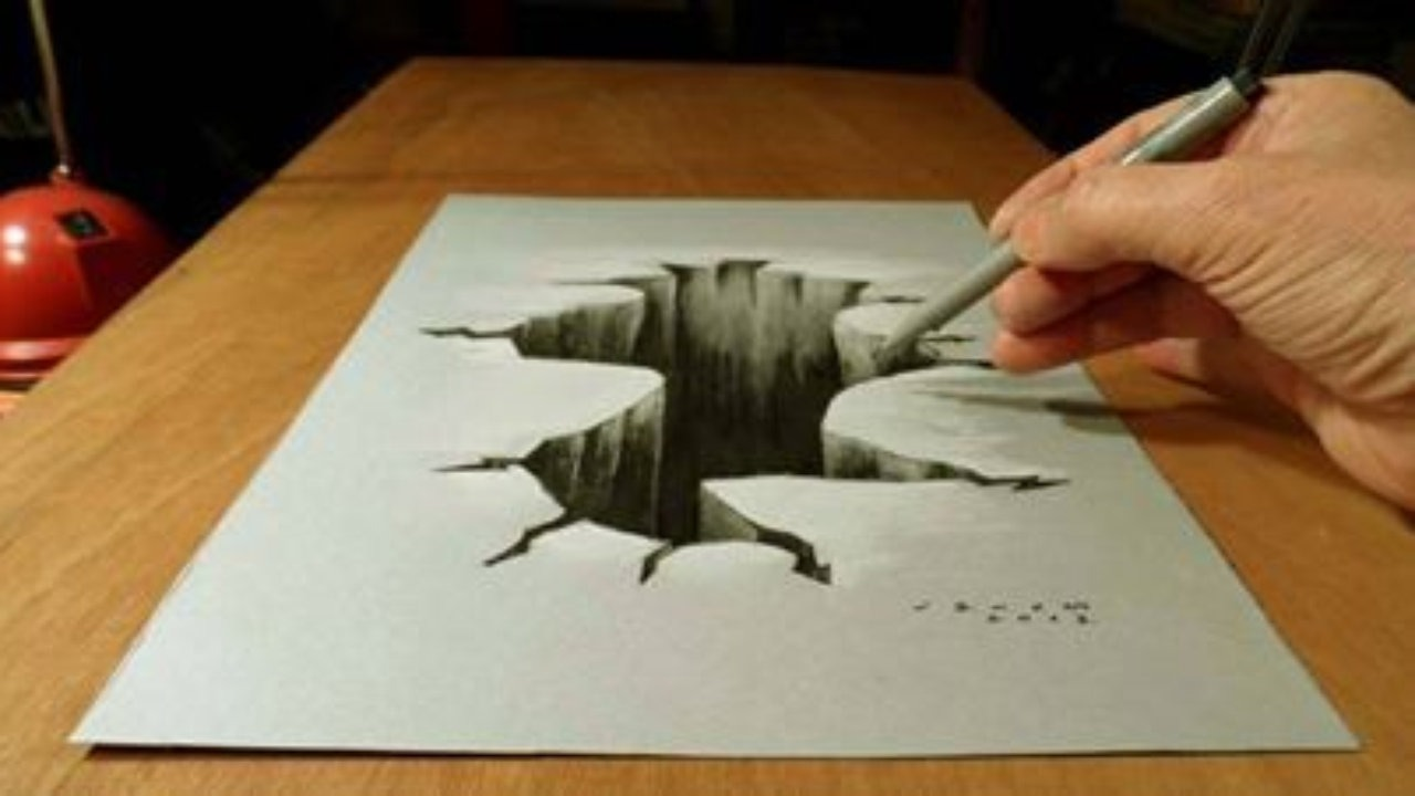 Easy D Line Drawings : 3d drawing images at getdrawings.com free for personal use
