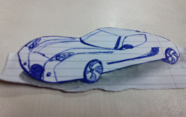 3d Drawing Of A Car at GetDrawings.com | Free for personal use 3d ...