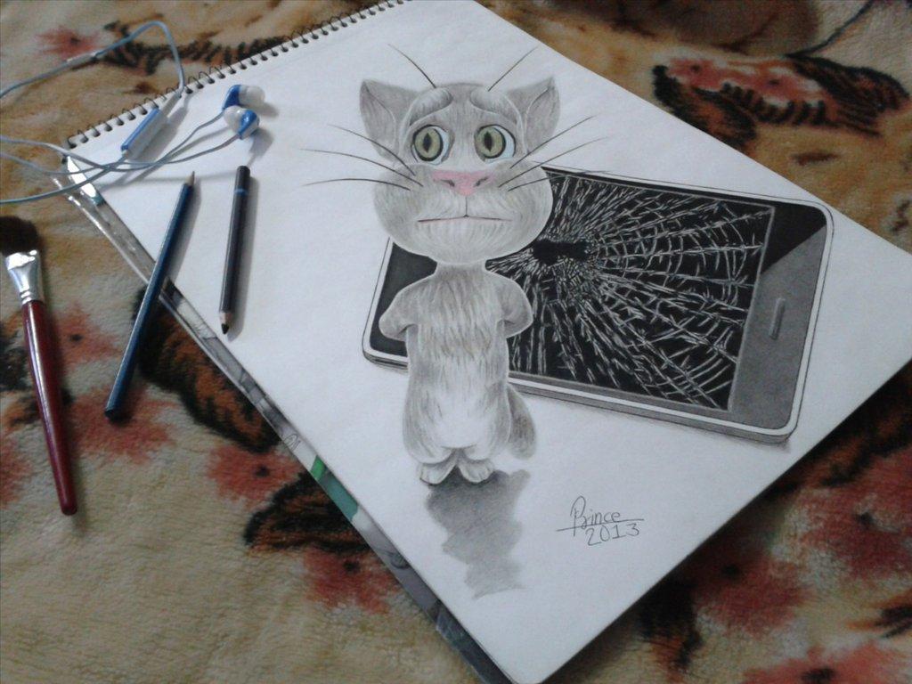 1024x768 Tom Cat