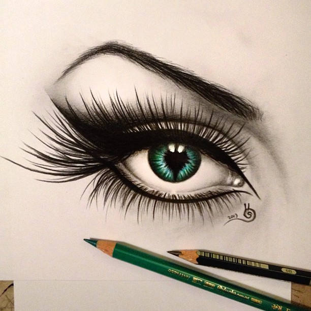3d Eye Drawing at GetDrawings com   Free for personal use 3d