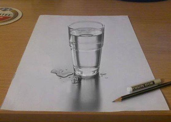 558x400 Nikola Culjic Glass 3d Drawing Art