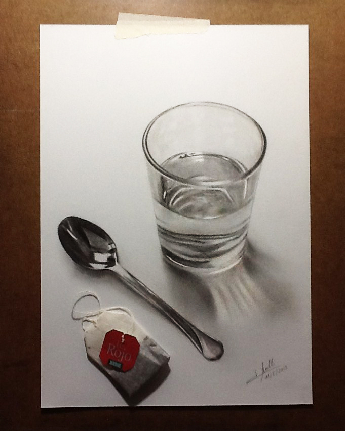 681x852 Practice Drawing 3d 2 By Isabel Mr