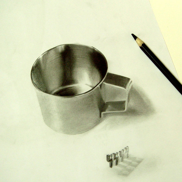600x600 Realistic Drawing 3d