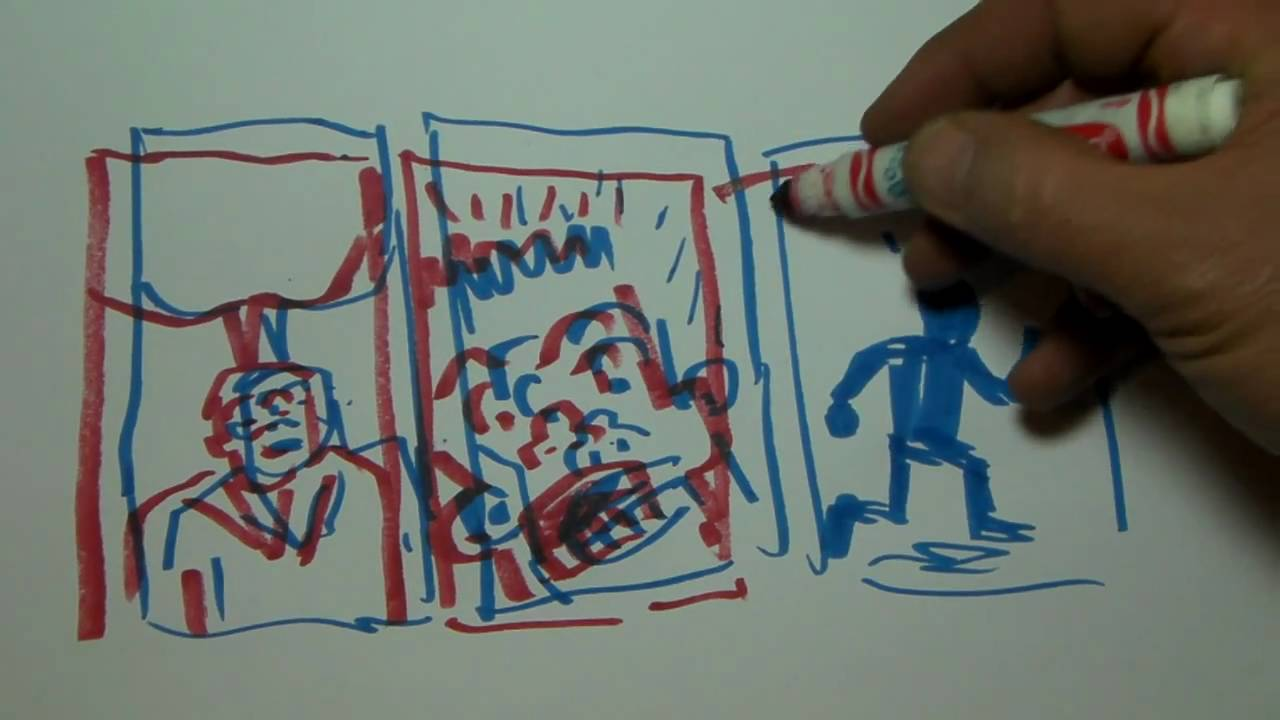 1280x720 How To Draw Classic 3d Comics