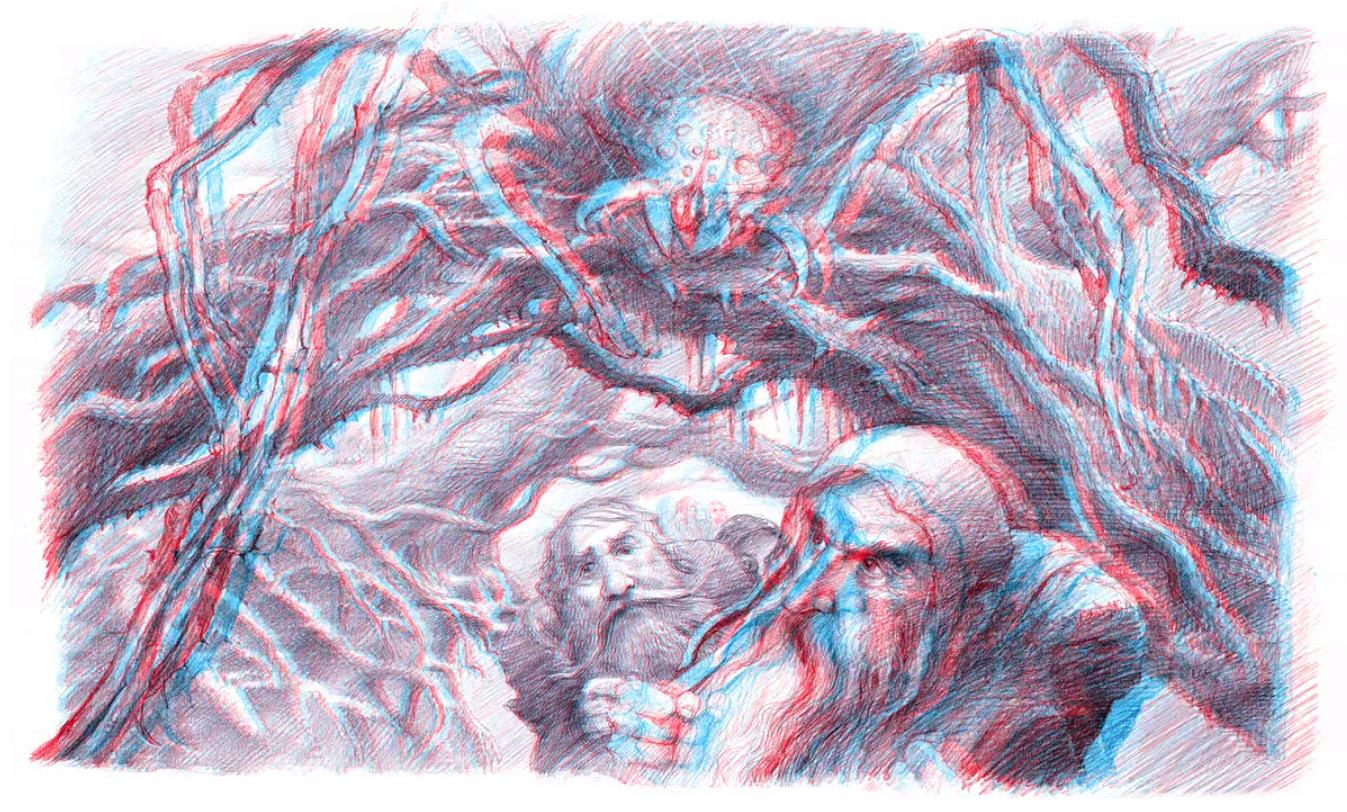 1347x812 Is It Possible To Create 3d Redcyan Anaglyphs In A Hand Drawing