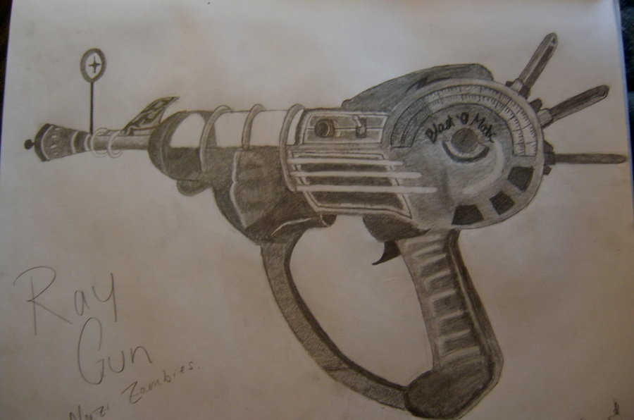 900x596 Ray Gun By Creativeexistence