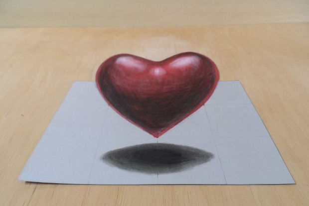 620x414 Heart Drawings, Art Ideas Design Trends