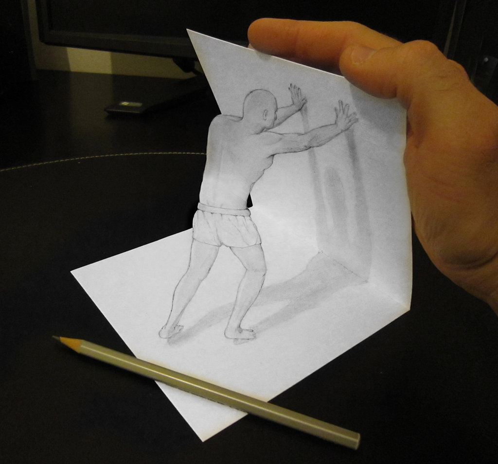 3d Illusions Drawing At Getdrawings Com Free For Personal Use 3d