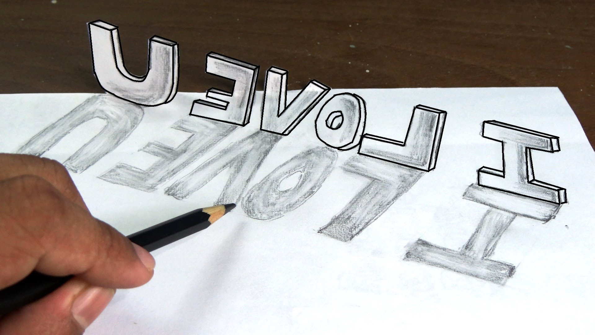 1920x1080 3d Love Sketches 3d Nature Graffiti Drawing 3d Sketches Of Love