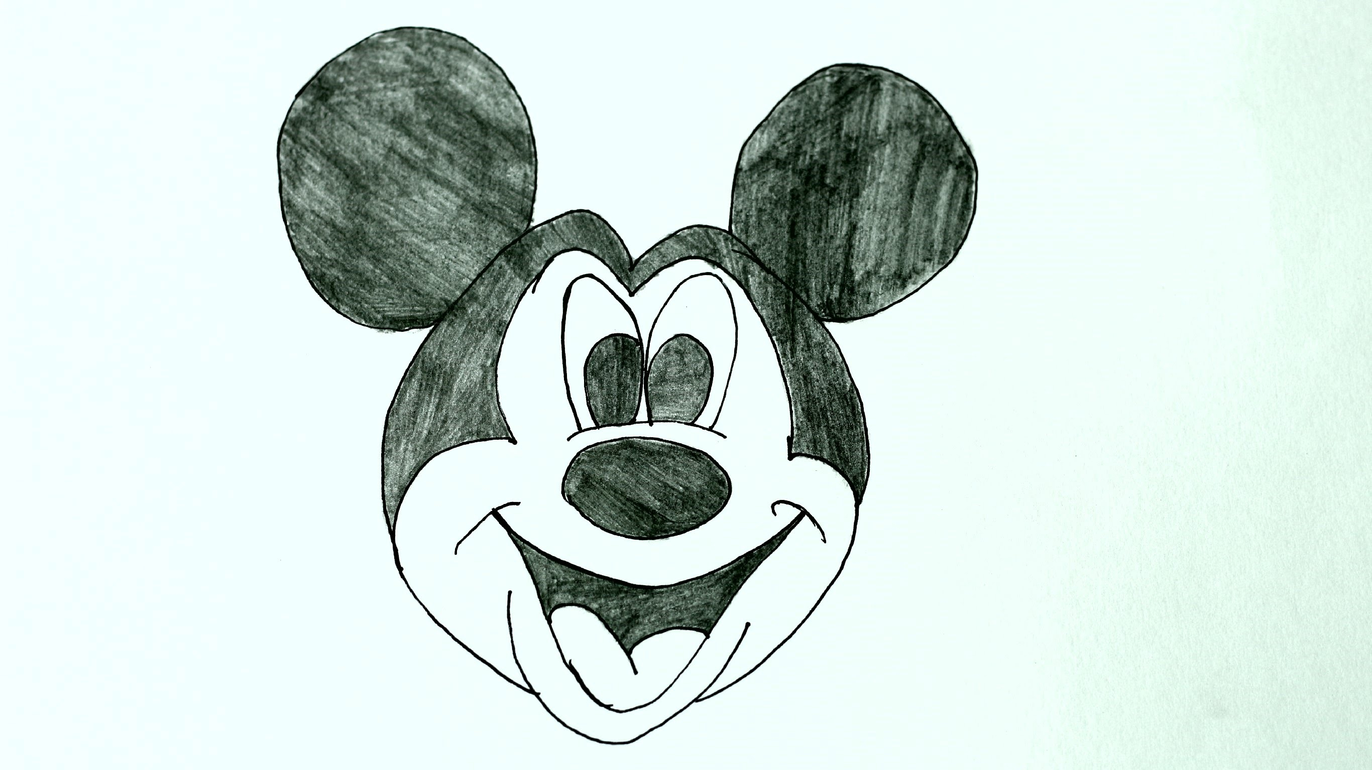 Line Drawing Mouse : 3d mickey mouse drawing at getdrawings.com free for personal use