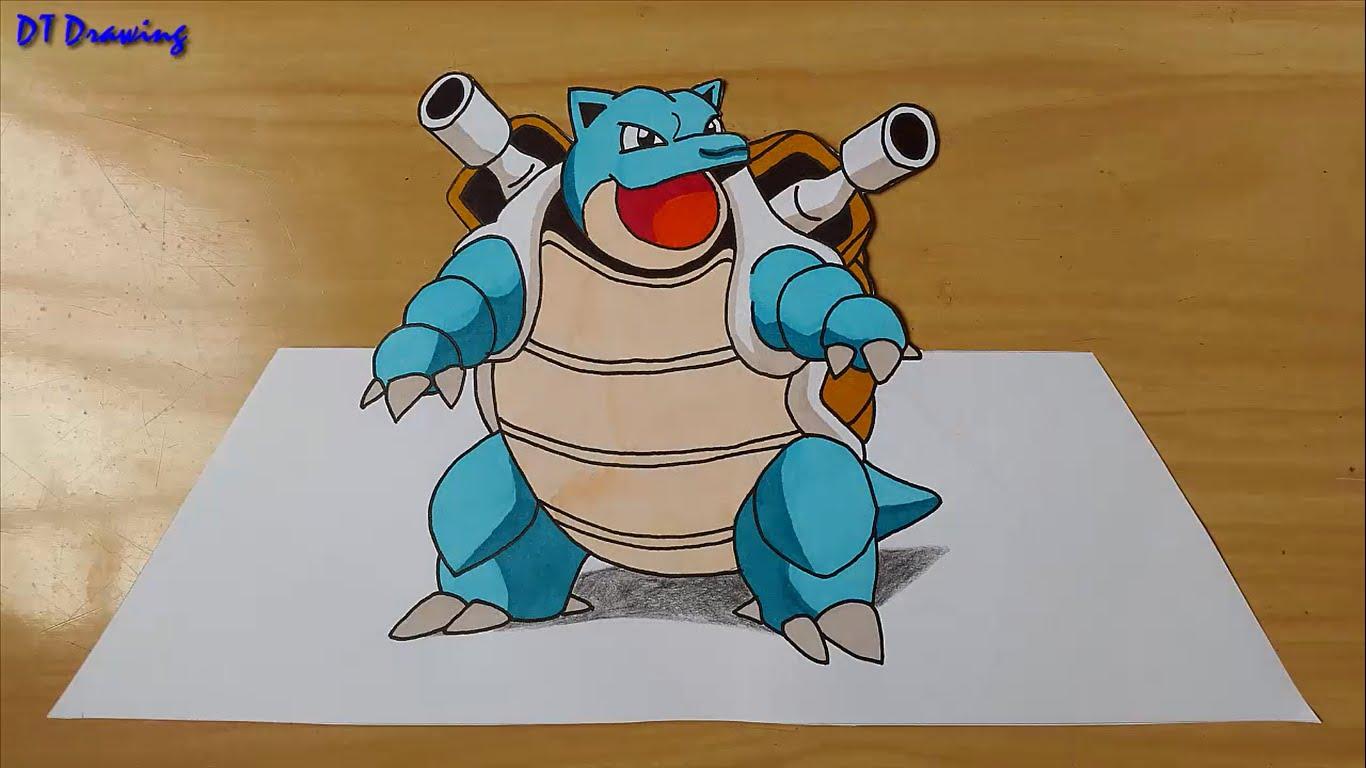 1366x768 Drawing Pokemon