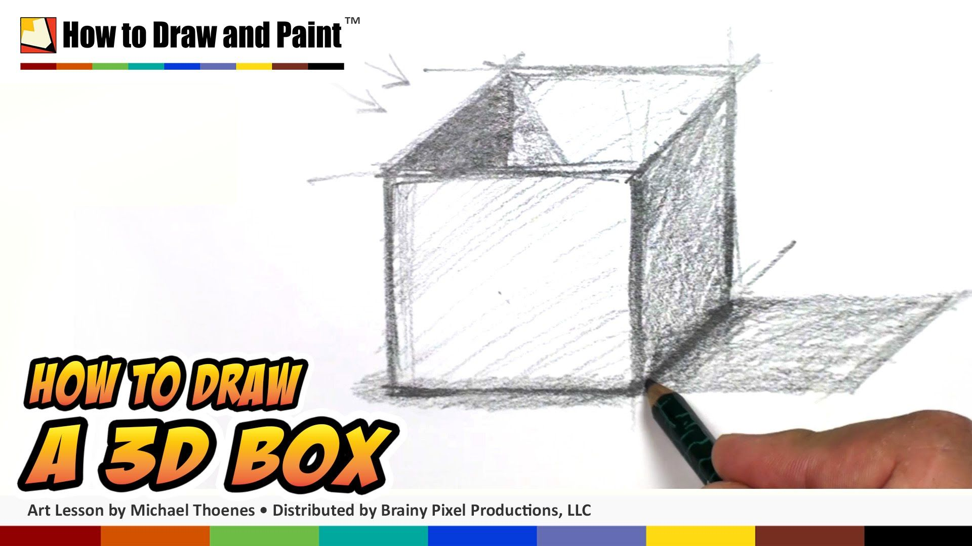 1920x1080 How To Draw 3d Shapes