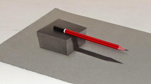 640x358 Mahesh Pendam Drawing A 3d Cube