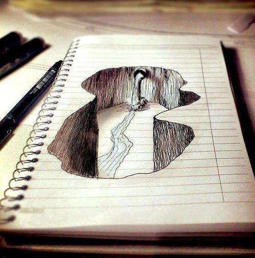 500x505 3d Drawing Art 3d Drawings, Draw And 3d