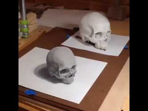 3d Skull Drawing at GetDrawings com | Free for personal use
