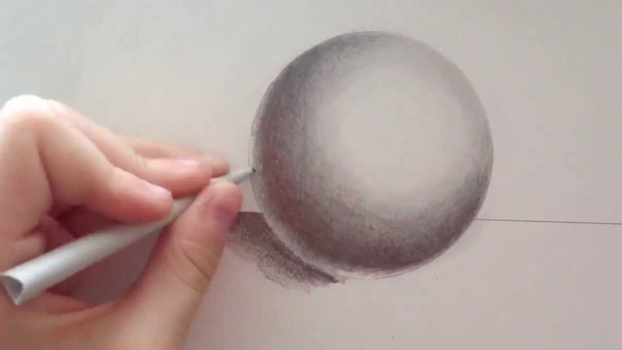 1280x720 Drawing Of A Sphere How To Draw A Realistic Sphere With Pencil