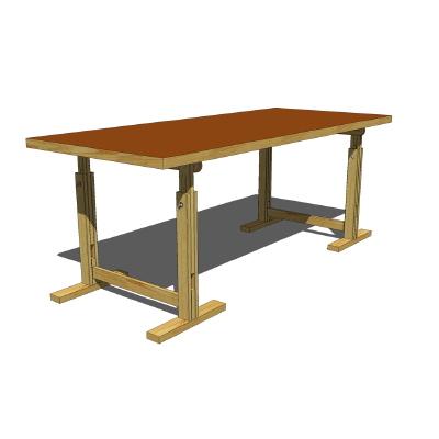 400x400 Ikea Threstletable V2 3d Model