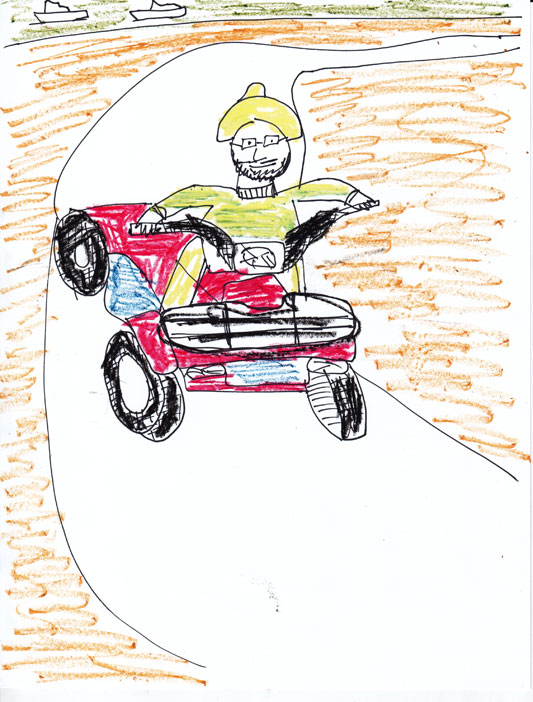 533x702 How To Draw A Four Wheeler Group