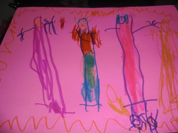 600x450 Drawings By A 4 Year Old Mommymandy L Texas Mom Blog