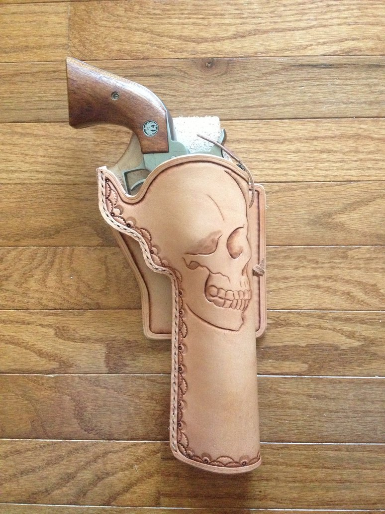774x1032 Ruger 44 Magnum Blackhawk Quick Draw Holster. By Level25