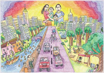400x284 2009 World Habitat Day Children's Drawing Contest Art Gallery