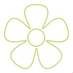 5 Petal Flower Drawing At Getdrawings Com Free For