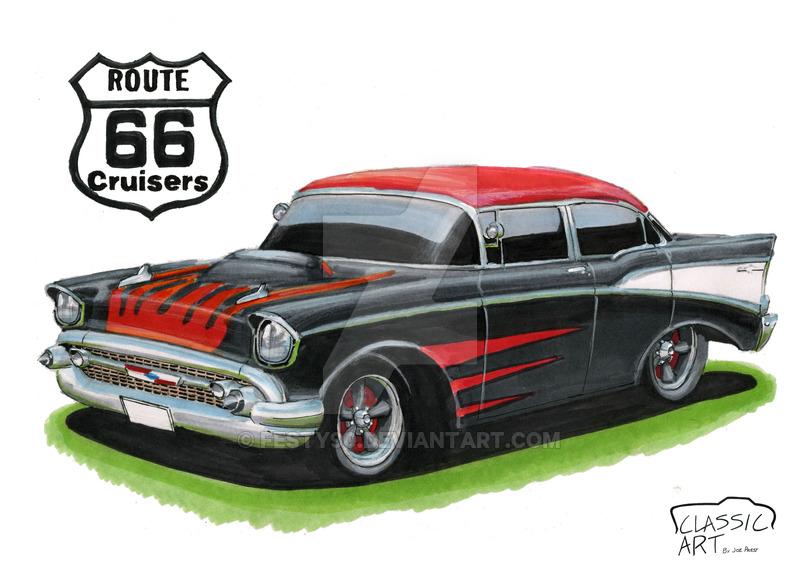 800x581 1957 Chevy Bel Air By Festy90