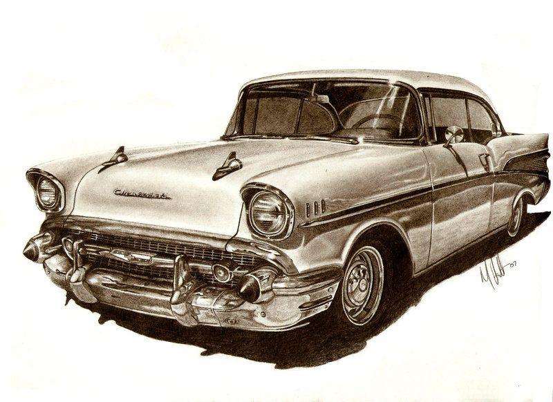 800x582 57 Chevy Bel Air By Tin23uk