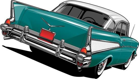 550x311 57 Chevy By Bmart333 On Clipart