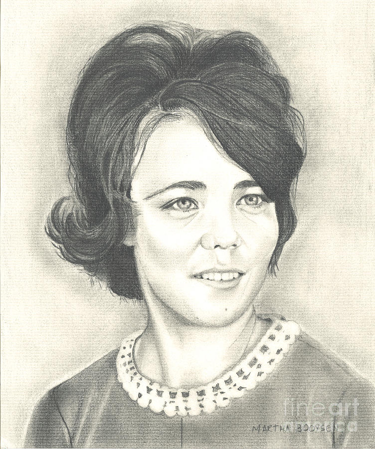 752x900 The 60's Drawing By Martha Booysen