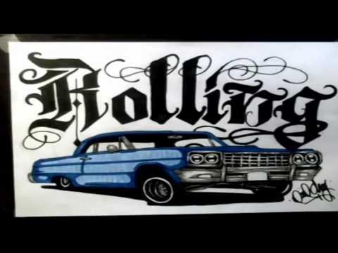 480x360 Me Drawing A 64 Impala (Demostyle)