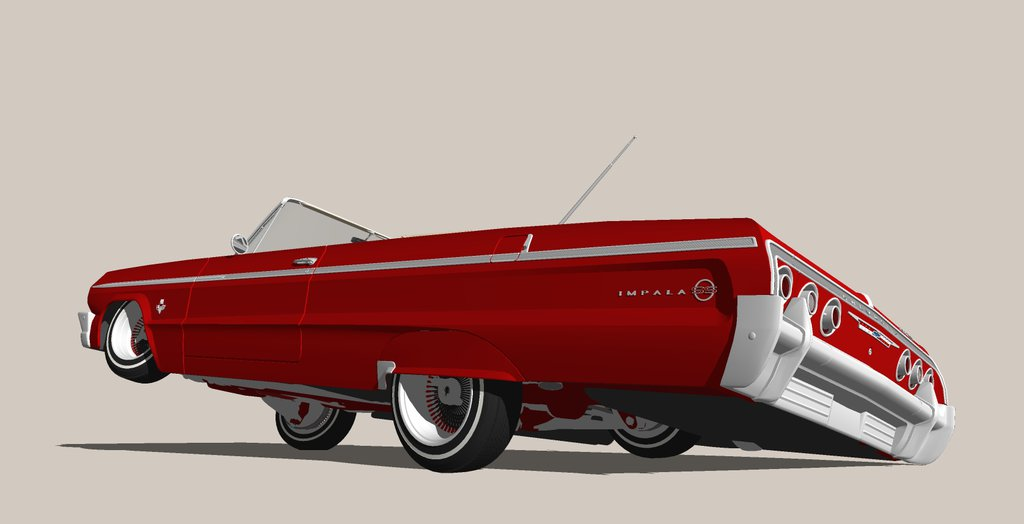 64 Impala Drawing at GetDrawings com | Free for personal use 64