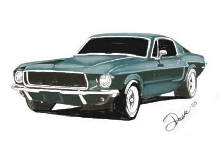 442x304 My Bullit Mustang 67 !