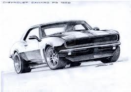 267x188 1967 Camaro Drawing