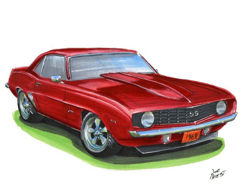 800x604 1969 Chevy Camaro Ss By Festy90