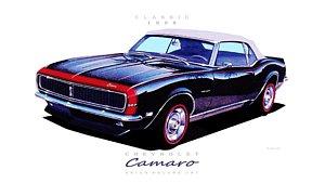 300x181 Camaro Drawings