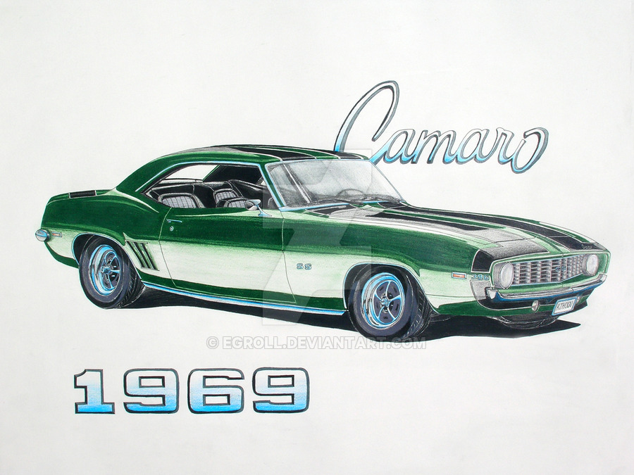 69 Camaro Drawing at GetDrawings com | Free for personal use