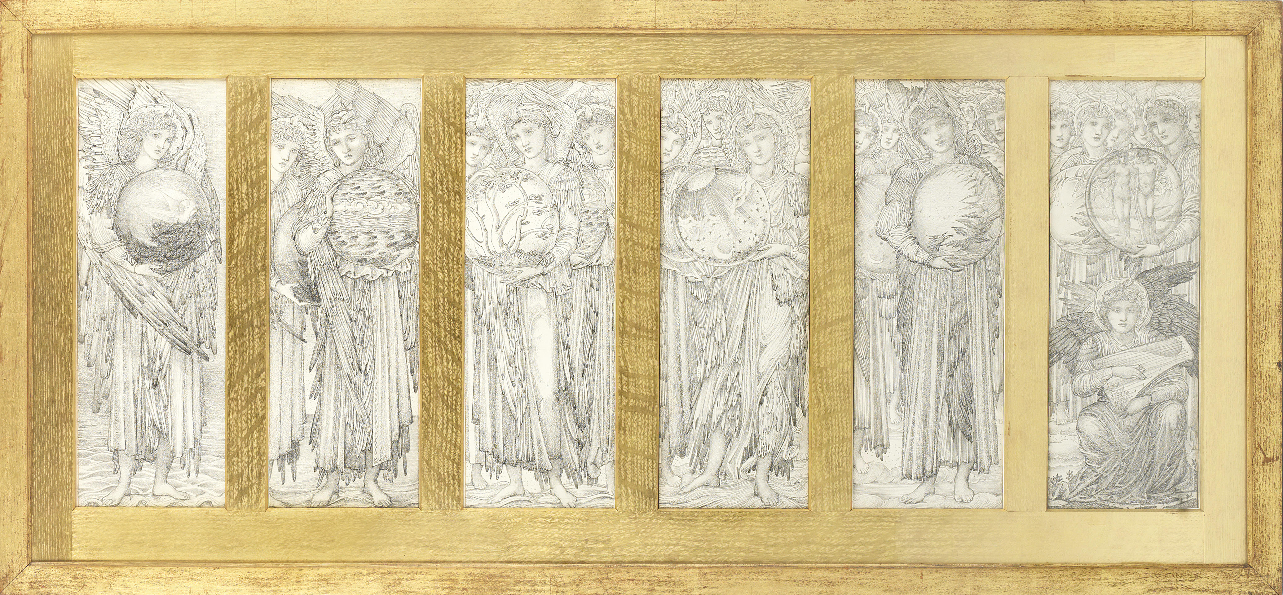 4140x1920 The History Blog Blog Archive Burne Jones' Days Of Creation