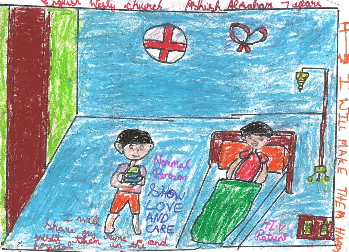 1118x806 A 7 Year Old Boy's Response To Hiv Help A Child Of India