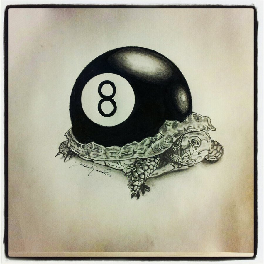 900x900 Turtle 8 Ball By Lowoncash1