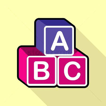 450x450 Abc Block Blocks Drawing